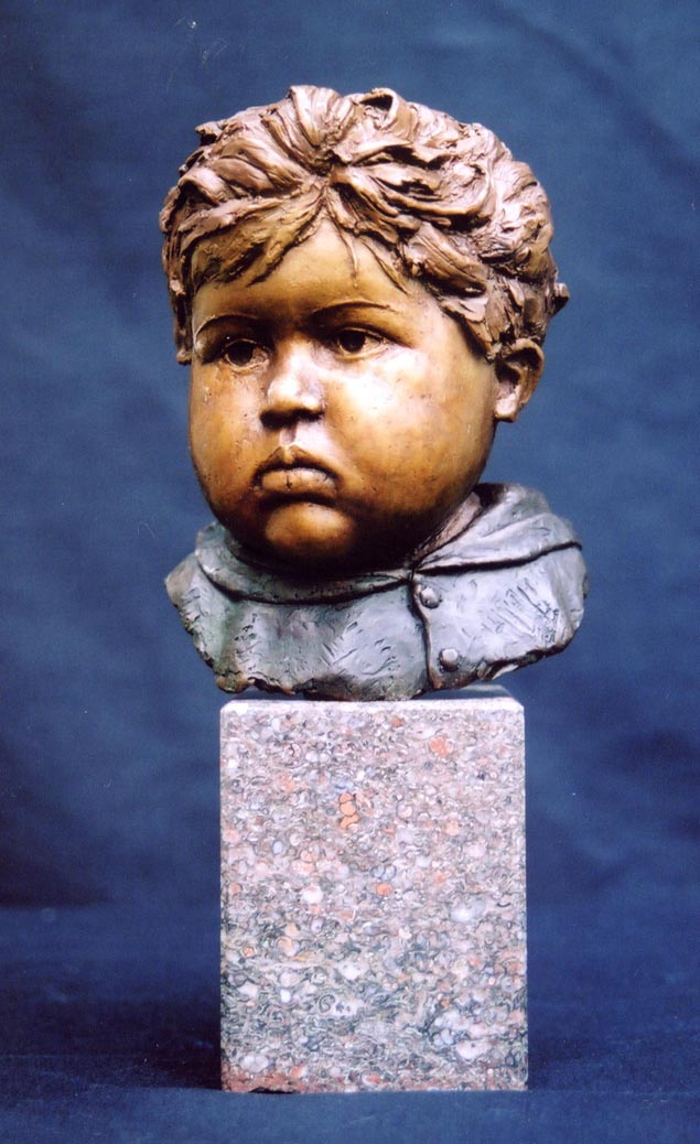Rohan,150mm x 100mm x 100mm, bronze, artist's collection